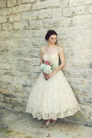 50 Tea Length Dresses For Brides Ideas 57 3