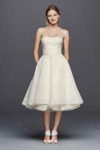 50 Tea Length Dresses For Brides Ideas 6 3