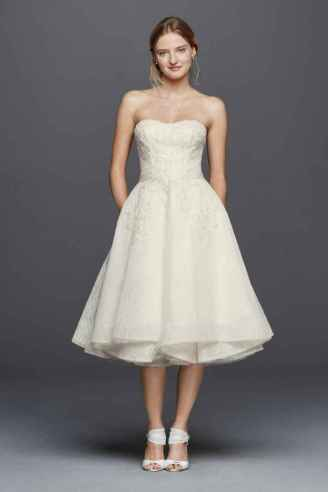 50 Tea Length Dresses For Brides Ideas 6 3