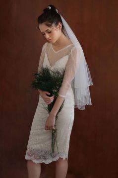50 Tea Length Dresses For Brides Ideas 8 3