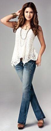 50 White Sleeveless Top Outfits Ideas 34