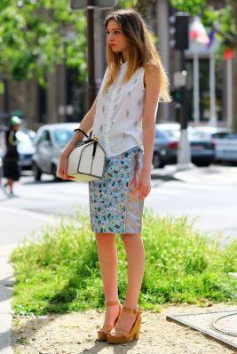 50 White Sleeveless Top Outfits Ideas 40