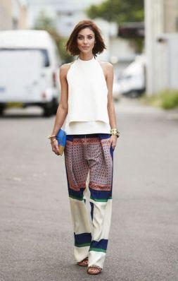 50 White Sleeveless Top Outfits Ideas 41