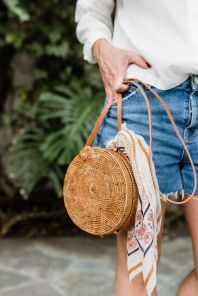50 Woven and Bamboo Bags for Summer Ideas 1