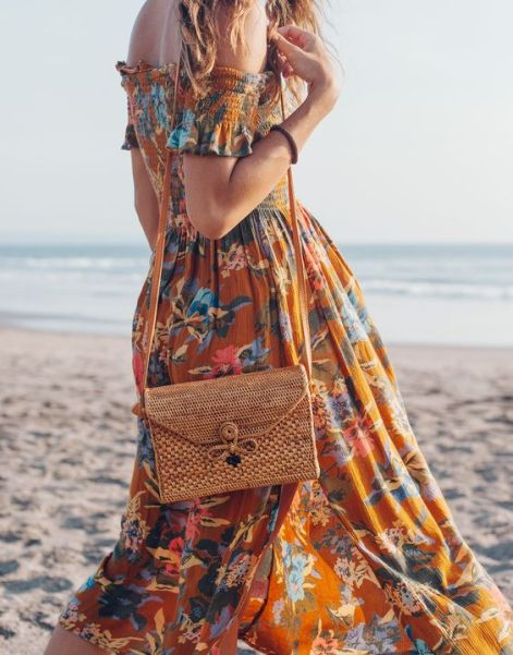 50 Woven and Bamboo Bags for Summer Ideas 12