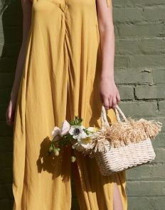 50 Woven and Bamboo Bags for Summer Ideas 2