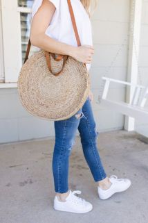 50 Woven and Bamboo Bags for Summer Ideas 32