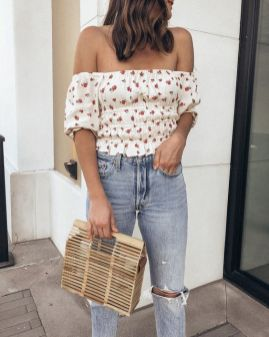 50 Woven and Bamboo Bags for Summer Ideas 37