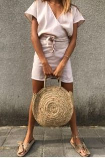 50 Woven and Bamboo Bags for Summer Ideas 49