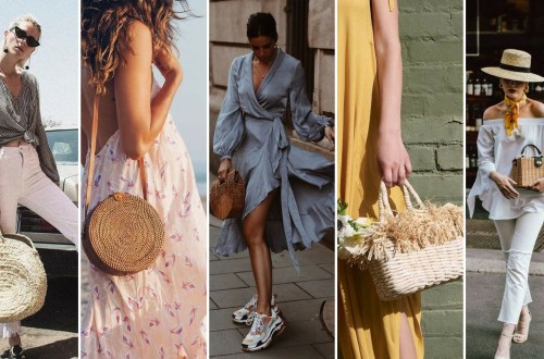 50 Woven and Bamboo Bags for Summer Ideas