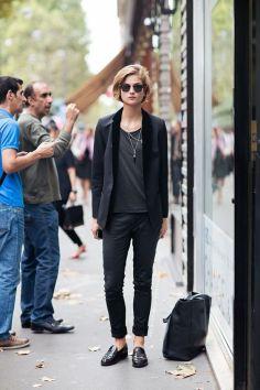 50 stilvolle Look Loafer Schuhe Street Styles Ideen 13
