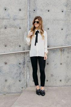 50 stilvolle Look Loafer Schuhe Street Styles Ideen 24