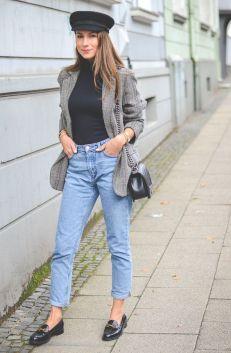 50 stilvolle Look Loafer Schuhe Street Styles Ideen 25