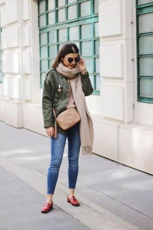 50 stilvolle Look Loafer Schuhe Street Styles Ideen 26