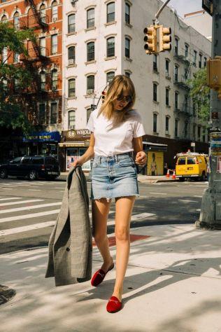 50 stilvolle Look Loafer Schuhe Street Styles Ideen 40