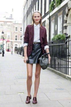 50 stilvolle Look Loafer Schuhe Street Styles Ideen 47