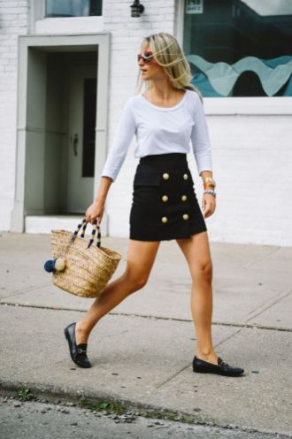 50 stilvolle Look Loafer Schuhe Street Styles Ideen 5