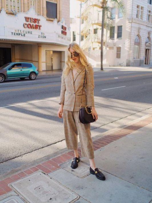 50 stilvolle Look Loafer Schuhe Street Styles Ideen 52