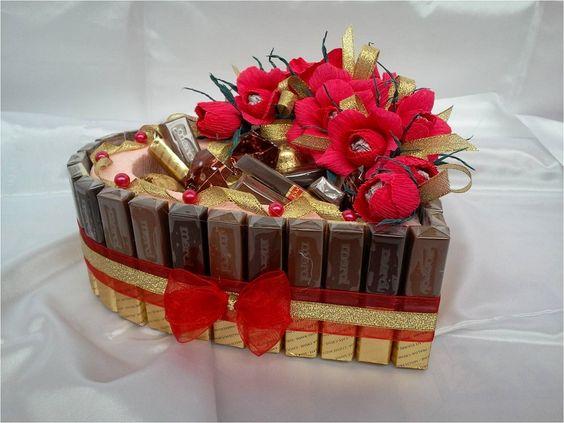 70 Schokoladengeschenk für Valentinstag Ideen 20