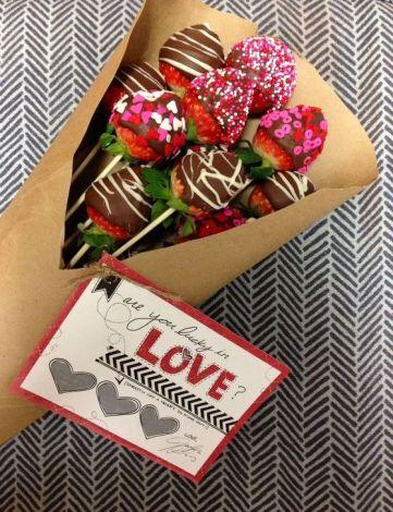 70 Schokoladengeschenk für Valentinstag Ideen 66