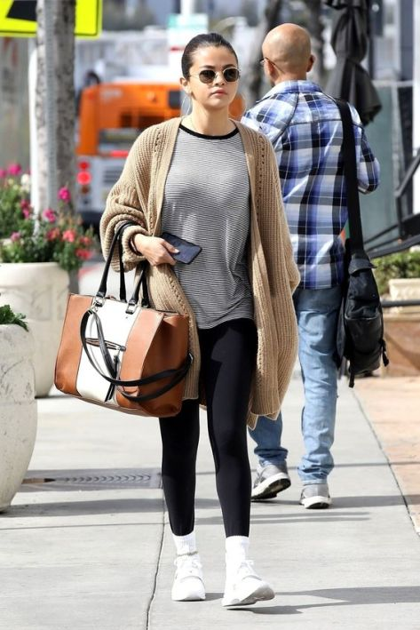 70 Ways Selena Gomes Styles with Sneakers Ideas 37