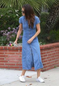 70 Ways Selena Gomes Styles with Sneakers Ideas 50