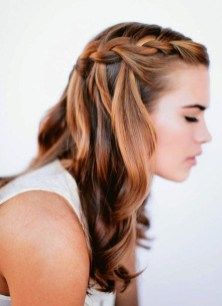 30 Simple Long Hairstyles for Party Look Ideas 11 1