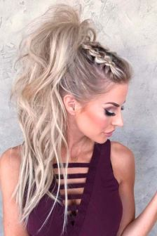 30 Simple Long Hairstyles for Party Look Ideas 18 1