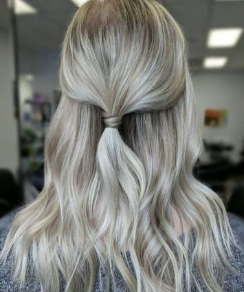30 Simple Long Hairstyles for Party Look Ideas 30 1