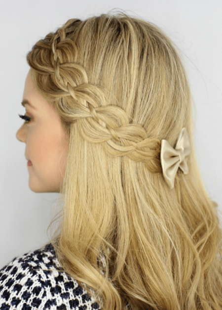 30 Simple Long Hairstyles for Party Look Ideas 31