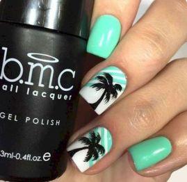 40 Beach Themed Nail Art for Summer Ideas 5