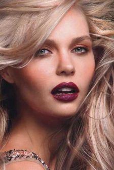 40 Burgundy Makeup Look Ideas 19