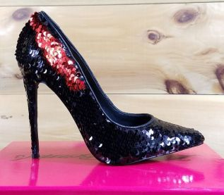 40 Chic Sequin Shoes Ideas 14