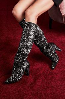 40 Chic Sequin Shoes Ideas 16