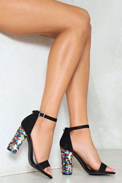 40 Chic Sequin Shoes Ideas 19