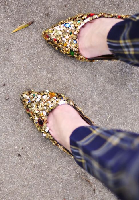 40 Chic Sequin Shoes Ideas 26
