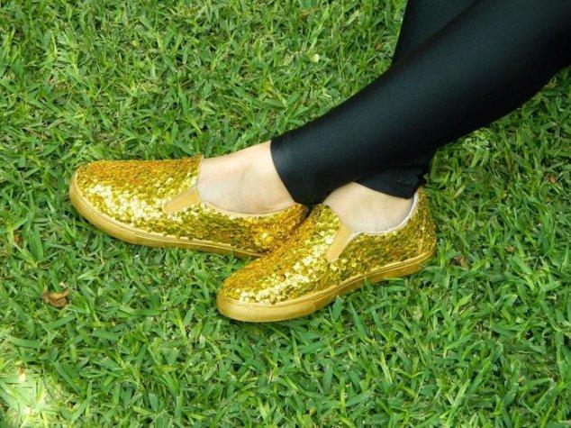 40 Chic Sequin Shoes Ideas 35