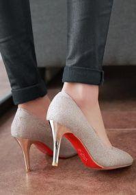 40 Chic Sequin Shoes Ideas 36