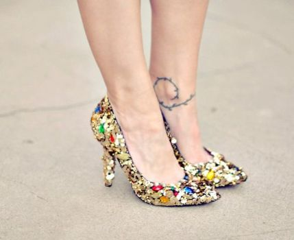40 Chic Sequin Shoes Ideas 39