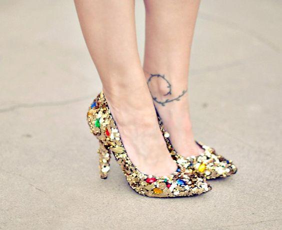 40 Chic Sequin Shoes Ideas 39