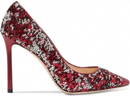 40 Chic Sequin Shoes Ideas 8