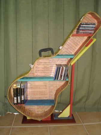 40 DIY Repurpose Old Guitars Ideas 16