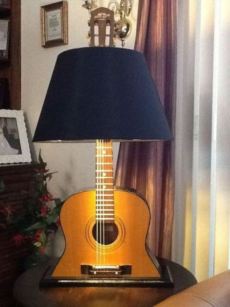 40 DIY Repurpose Old Guitars Ideas 5