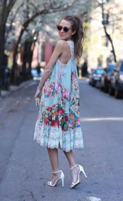 40 Fashionable Floral Print Dresses for Summer Ideas 1