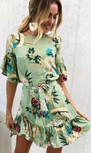 40 Fashionable Floral Print Dresses for Summer Ideas 10