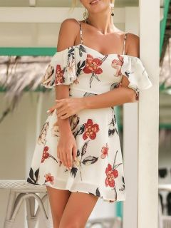40 Fashionable Floral Print Dresses for Summer Ideas 21