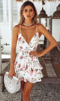 40 Fashionable Floral Print Dresses for Summer Ideas 30