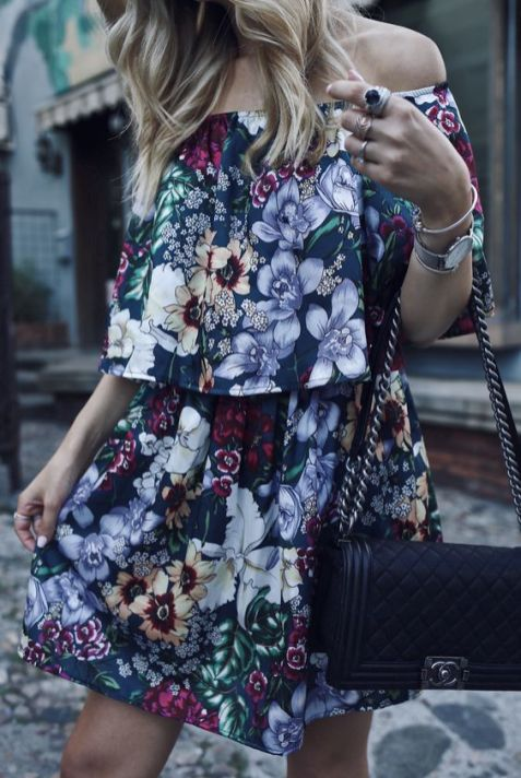 40 Fashionable Floral Print Dresses for Summer Ideas 38