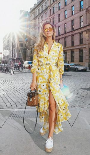 40 Fashionable Floral Print Dresses for Summer Ideas 41