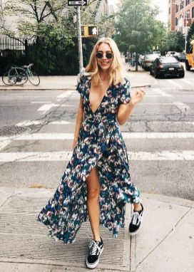 40 Fashionable Floral Print Dresses for Summer Ideas 42